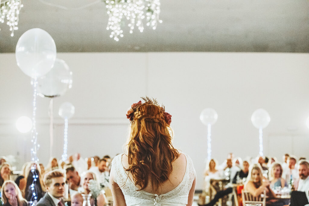 Bride's speech at her wedding